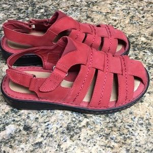 Red Romika Sandals